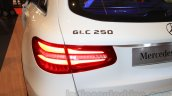 Mercedes GLC badge at the Indonesia International Motor Show 2015