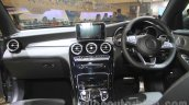 Mercedes GLC dashboard at the 2015 Gaikindo Indonesia International Auto Show