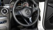 Mercedes GLC steering wheel at the Indonesia International Motor Show 2015