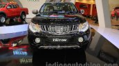 Mitsubishi Triton Exceed black at the Gaikindo Indonesia International Auto Show 2015 (GIIAS 2015)