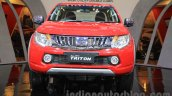 Mitsubishi Triton Exceed front at the Gaikindo Indonesia International Auto Show 2015 (GIIAS 2015)
