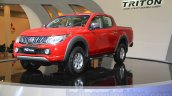Mitsubishi Triton Exceed front three quarter at the Gaikindo Indonesia International Auto Show 2015 (GIIAS 2015)