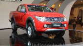 Mitsubishi Triton Exceed front three quarter left at the Gaikindo Indonesia International Auto Show 2015 (GIIAS 2015)