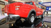 Mitsubishi Triton Exceed rear three quarter at the Gaikindo Indonesia International Auto Show 2015 (GIIAS 2015)