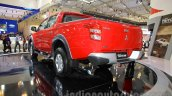 Mitsubishi Triton Exceed rear three quarter left at the Gaikindo Indonesia International Auto Show 2015 (GIIAS 2015)