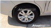2015 Suzuki Ertiga alloy wheel spied