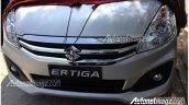2015 Suzuki Ertiga grille spied
