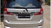 2015 Suzuki Ertiga taillight cluster spied