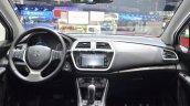 Suzuki SX4 S-Cross dashboard at the Geneva Motor Show 2016