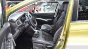 Suzuki SX4 S-Cross front seats at the Geneva Motor Show 2016