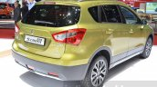 Suzuki SX4 S-Cross rear three quarters at the Geneva Motor Show 2016