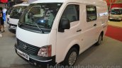Tata Super Ace Del-V (closed cabin) front quarter at the 2015 Gaikindo Indonesia International Auto Show (2015 GIIAS)
