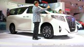 Toyota Alphard Hybrid at the Gaikindo Indonesia International Auto Show 2015