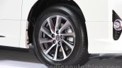 Toyota Alphard Hybrid wheel at the Gaikindo Indonesia International Auto Show 2015