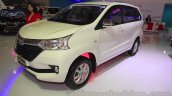 Toyota Grand New Avanza front three quarter at the 2015 IIMS