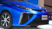 Toyota Mirai bumper at the Gaikindo Indonesia International Auto Show 2015