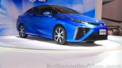 Toyota Mirai front three quarter at the Gaikindo Indonesia International Auto Show 2015