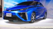 Toyota Mirai front three quarter right at the Gaikindo Indonesia International Auto Show 2015