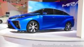 Toyota Mirai side at the Gaikindo Indonesia International Auto Show 2015