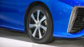 Toyota Mirai wheel at the Gaikindo Indonesia International Auto Show 2015