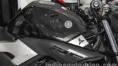 Yamaha MT-25 fuel tank at the Indonesia International Motor Show 2015 (IIMS 2015)