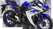 Yamaha YZF R3 Racing Blue 3QTR