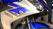 Yamaha YZF-R3 racing blue front end launched in Delhi at INR 3.25 Lakhs