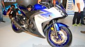 Yamaha YZF-R3 racing blue front quarter launched in Delhi at INR 3.25 Lakhs
