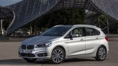 2015 BMW 225xe PHEV Active Tourer front three quarter unveiled