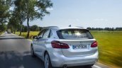 2015 BMW 225xe PHEV Active Tourer rear quarter unveiled