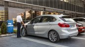 2015 BMW 225xe PHEV Active Tourer rear three quarter unveiled