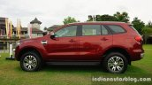 2015 Ford Endeavour side profile (Review)