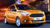 2015 Ford Figo India-spec front