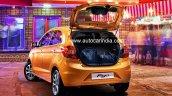 2015 Ford Figo India-spec rear