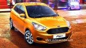 2015 Ford Figo India-spec