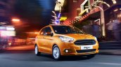 2015 Ford Figo front quarter press shots