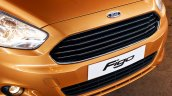 2015 Ford Figo grille press shots