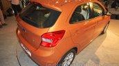 2015 Ford Figo rear quarter launched