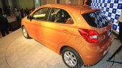 2015 Ford Figo rear three quarter launched