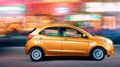 2015 Ford Figo side press shots