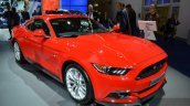 2015 Ford Mustang front three quarters left at IAA 2015