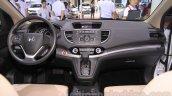2015 Honda CR-V facelift interior at the 2015 Chengdu Motor Show