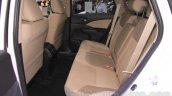 2015 Honda CR-V facelift rear seats at the 2015 Chengdu Motor Show