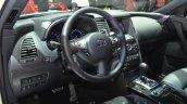 2015 Infiniti QX70 Ultimate interior at IAA 2015