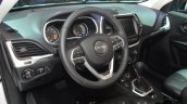 2015 Jeep Cherokee Trailhawk interior at the IAA 2015