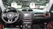 2015 Jeep Renegade Trailhawk dashboard at the IAA 2015