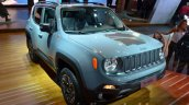2015 Jeep Renegade Trailhawk front three quarter at the IAA 2015