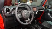 2015 Jeep Wrangler Sahara interior at the IAA 2015