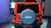 2015 Jeep Wrangler Sahara rear at the IAA 2015