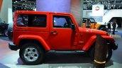 2015 Jeep Wrangler Sahara side at the IAA 2015